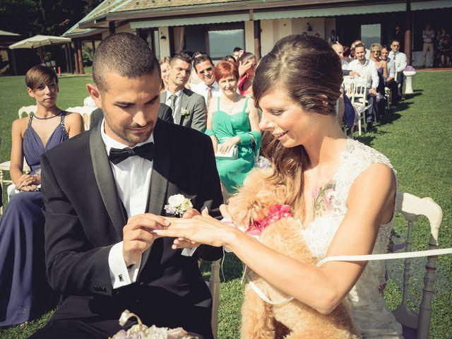 Il matrimonio di Luca e Sara a Besozzo, Varese 41