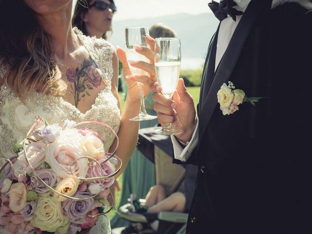 Il matrimonio di Luca e Sara a Besozzo, Varese 45