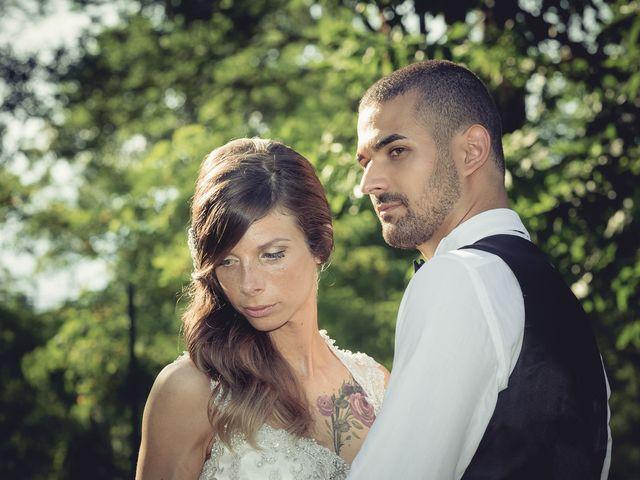 Il matrimonio di Luca e Sara a Besozzo, Varese 48