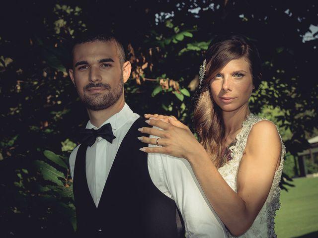 Il matrimonio di Luca e Sara a Besozzo, Varese 50