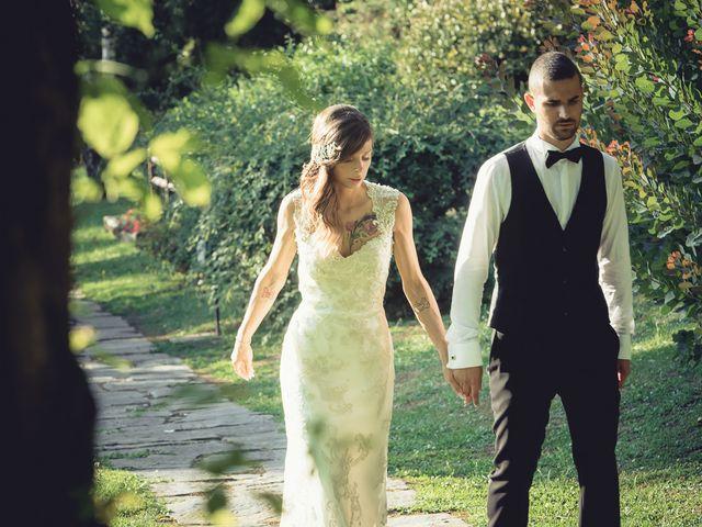 Il matrimonio di Luca e Sara a Besozzo, Varese 63