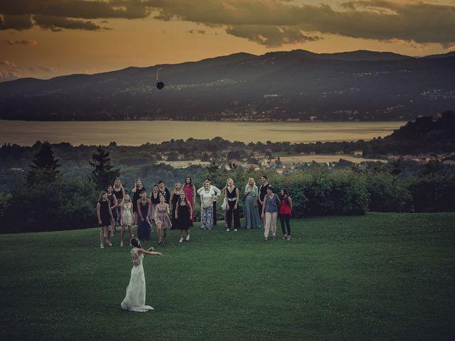 Il matrimonio di Luca e Sara a Besozzo, Varese 70
