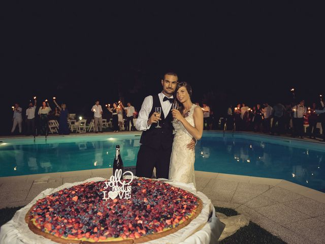 Il matrimonio di Luca e Sara a Besozzo, Varese 75