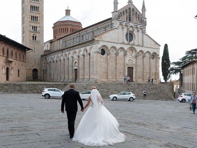 Il matrimonio di Yuri e Luisa a Massa Marittima, Grosseto 27