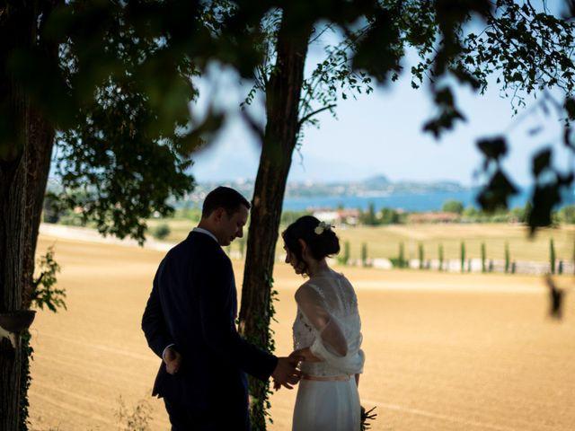 Il matrimonio di Florent e Anna a Lonato del Garda, Brescia 11