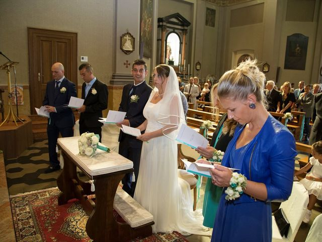 Il matrimonio di Damiano e Samuela a Vertemate con Minoprio, Como 10