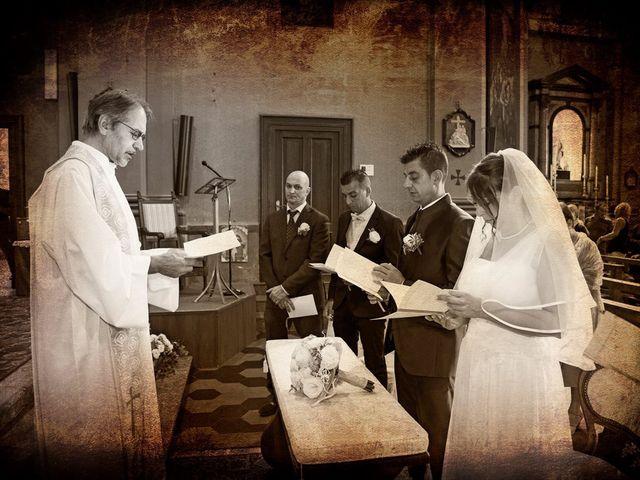 Il matrimonio di Damiano e Samuela a Vertemate con Minoprio, Como 11