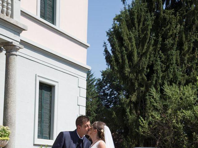 Il matrimonio di Damiano e Samuela a Vertemate con Minoprio, Como 21