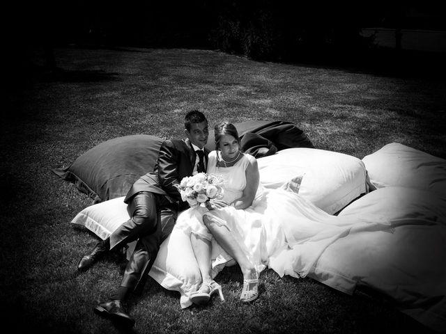 Il matrimonio di Damiano e Samuela a Vertemate con Minoprio, Como 25
