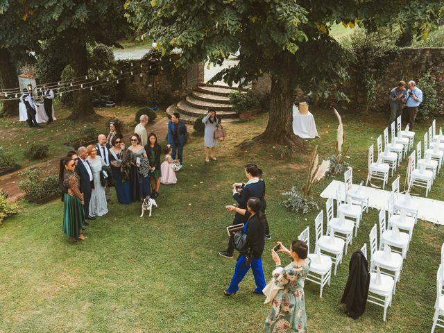 Il matrimonio di Jamie e Via a Lucca, Lucca 52