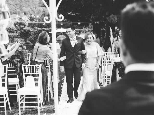 Il matrimonio di Jamie e Via a Lucca, Lucca 57