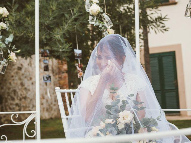 Il matrimonio di Jamie e Via a Lucca, Lucca 63