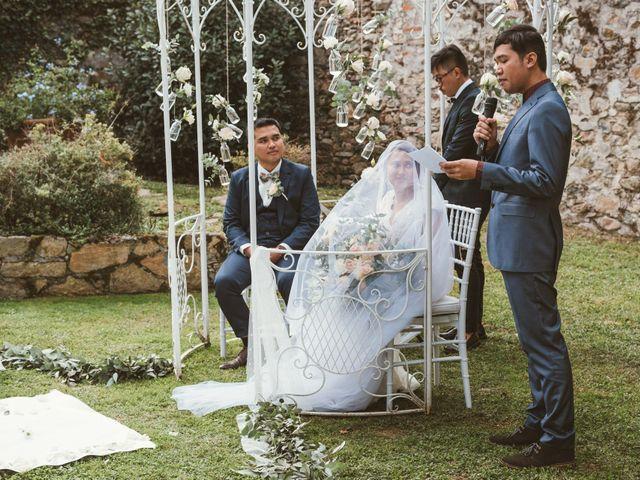 Il matrimonio di Jamie e Via a Lucca, Lucca 64