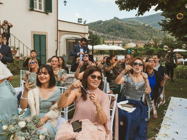 Il matrimonio di Jamie e Via a Lucca, Lucca 70