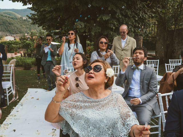 Il matrimonio di Jamie e Via a Lucca, Lucca 71