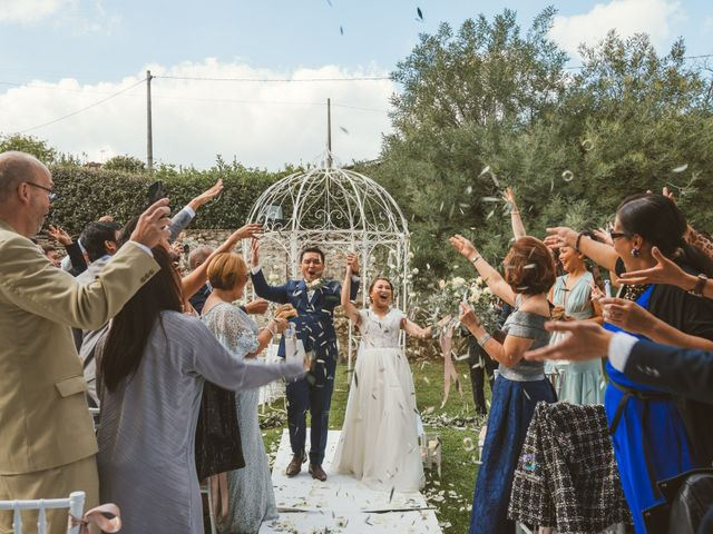 Il matrimonio di Jamie e Via a Lucca, Lucca 72