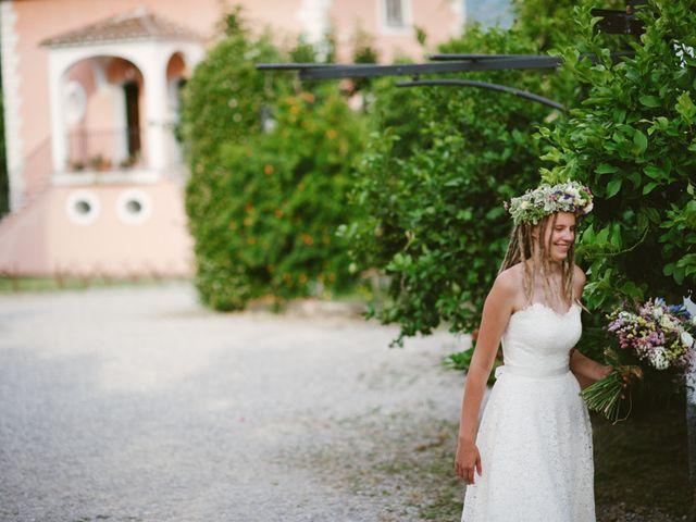 Il matrimonio di jon e Rasa a San Cipriano Picentino, Salerno 28