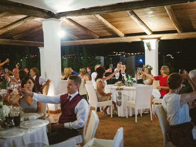 Il matrimonio di jon e Rasa a San Cipriano Picentino, Salerno 71