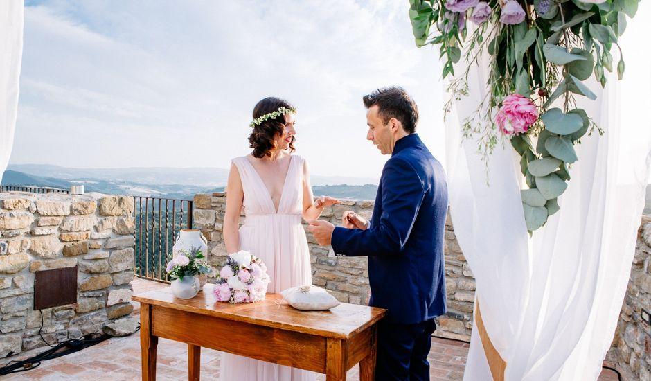 Il matrimonio di Chiara e Valerio a Gualdo Cattaneo, Perugia
