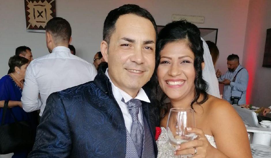 Il matrimonio di Gianluca e Luz Maria  a Sutri, Viterbo