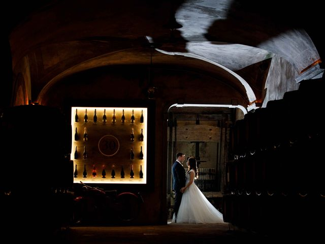 Il matrimonio di Matteo e Lisa a Monticelli Brusati, Brescia 8