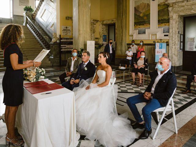 Il matrimonio di Lara e Andrea a Pietrasanta, Lucca 28