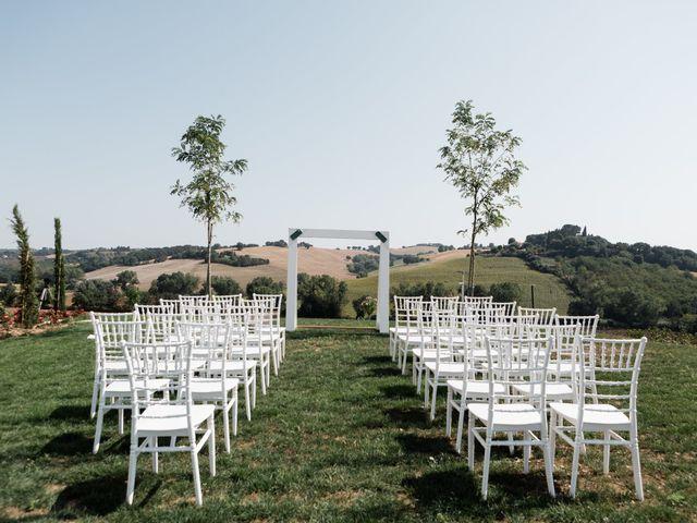 Il matrimonio di Raffaella e Ruggiero a Trecastelli, Ancona 3