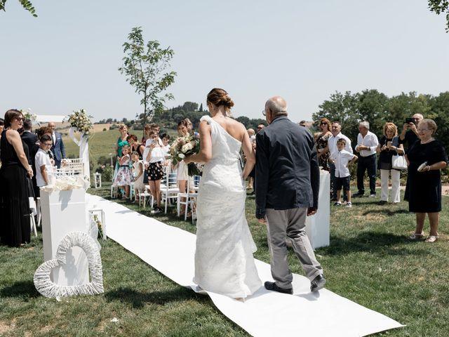 Il matrimonio di Raffaella e Ruggiero a Trecastelli, Ancona 38
