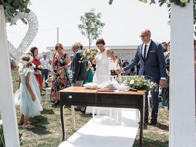 Il matrimonio di Raffaella e Ruggiero a Trecastelli, Ancona 39
