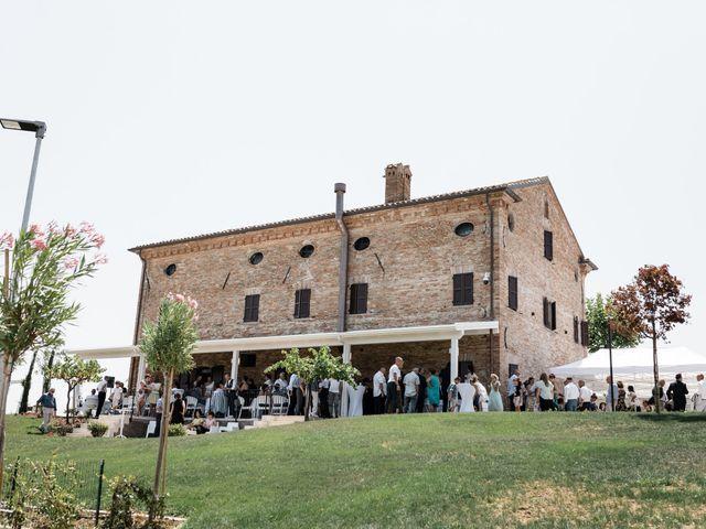 Il matrimonio di Raffaella e Ruggiero a Trecastelli, Ancona 52