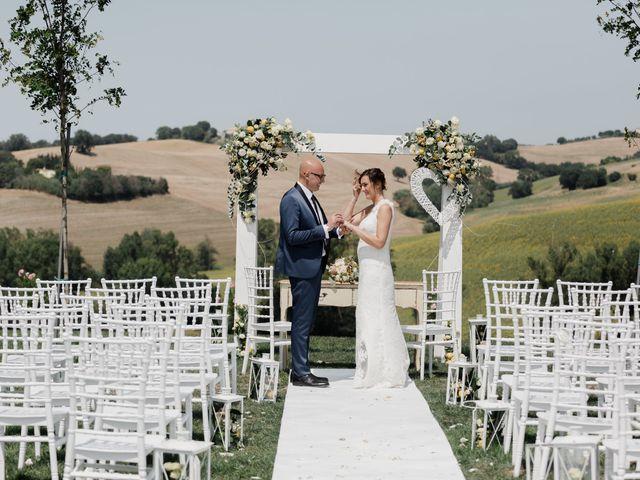 Il matrimonio di Raffaella e Ruggiero a Trecastelli, Ancona 54