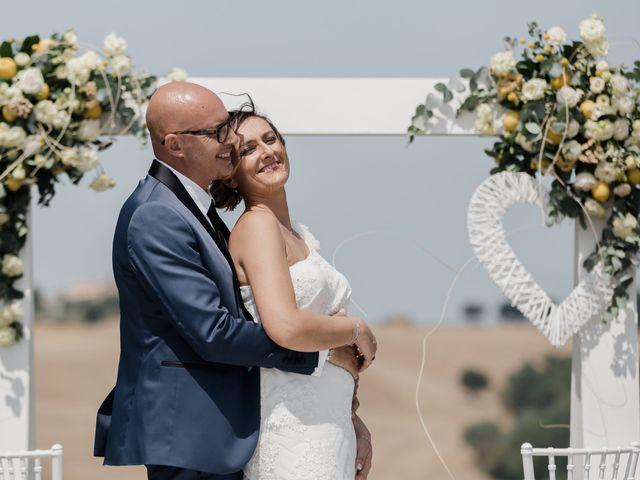 Il matrimonio di Raffaella e Ruggiero a Trecastelli, Ancona 55