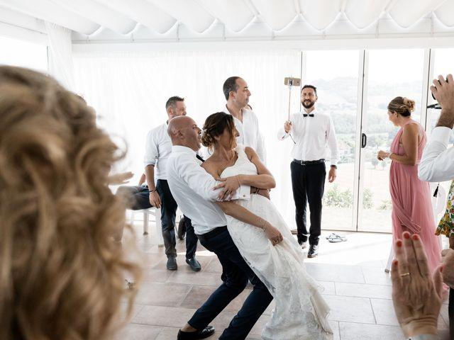 Il matrimonio di Raffaella e Ruggiero a Trecastelli, Ancona 60