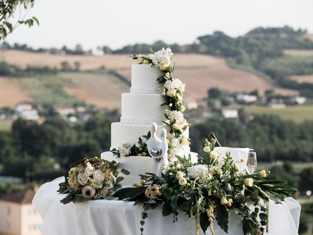 Il matrimonio di Raffaella e Ruggiero a Trecastelli, Ancona 65