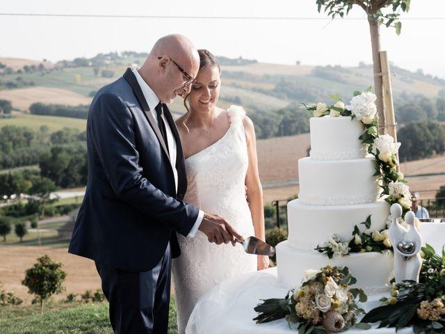 Il matrimonio di Raffaella e Ruggiero a Trecastelli, Ancona 66