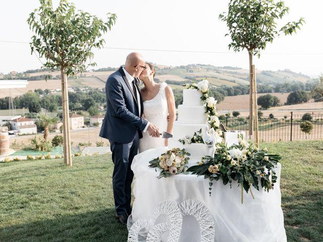 Il matrimonio di Raffaella e Ruggiero a Trecastelli, Ancona 67