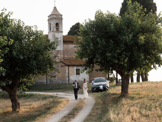 Il matrimonio di Raffaella e Ruggiero a Trecastelli, Ancona 71