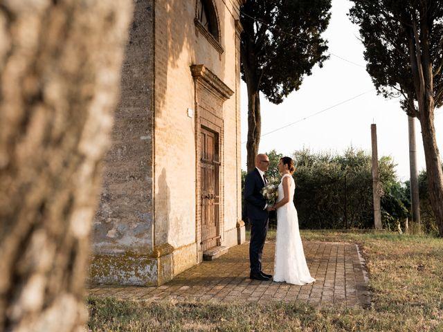 Il matrimonio di Raffaella e Ruggiero a Trecastelli, Ancona 73