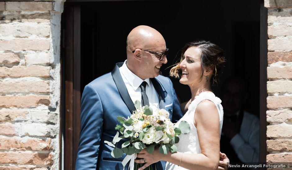 Il matrimonio di Raffaella e Ruggiero a Trecastelli, Ancona