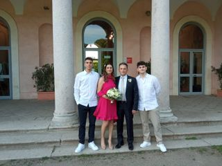 Le nozze di Erica e Massimiliano