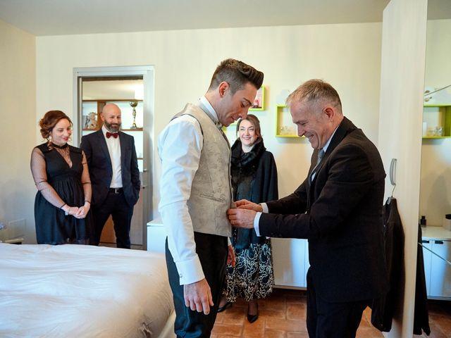 Il matrimonio di Simone e Elisa a Spello, Perugia 16