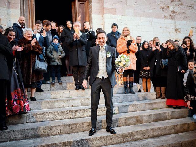 Il matrimonio di Simone e Elisa a Spello, Perugia 32