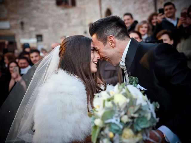 Il matrimonio di Simone e Elisa a Spello, Perugia 1