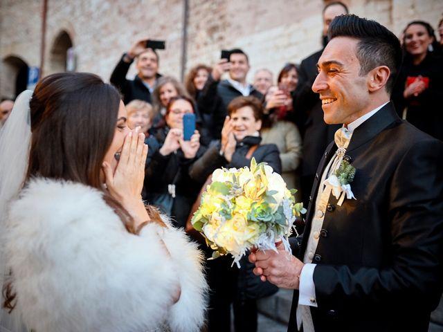 Il matrimonio di Simone e Elisa a Spello, Perugia 34