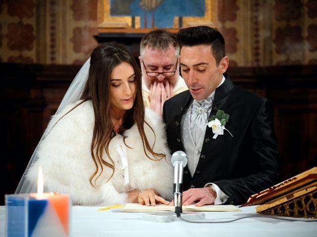 Il matrimonio di Simone e Elisa a Spello, Perugia 41