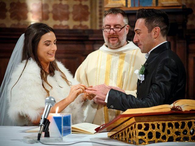 Il matrimonio di Simone e Elisa a Spello, Perugia 43