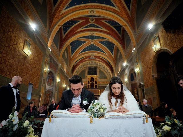 Il matrimonio di Simone e Elisa a Spello, Perugia 47