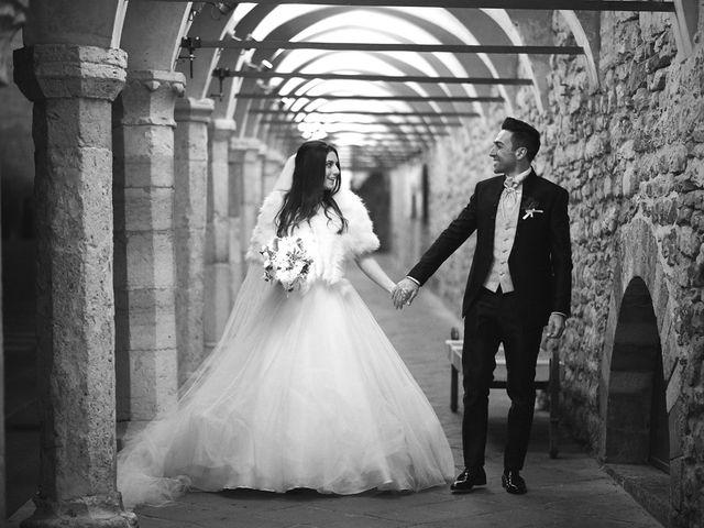 Il matrimonio di Simone e Elisa a Spello, Perugia 50