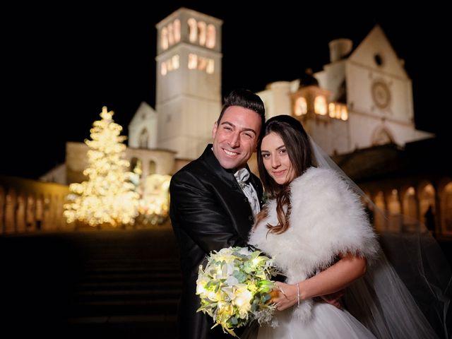 Il matrimonio di Simone e Elisa a Spello, Perugia 55