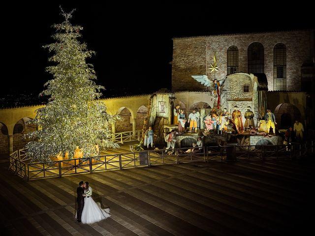 Il matrimonio di Simone e Elisa a Spello, Perugia 56